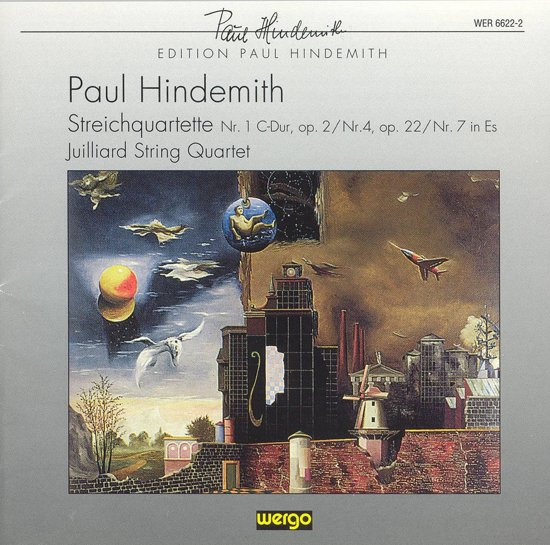 Hindemith: String Quartets no 1, 4, 7 / Julliard Quartet