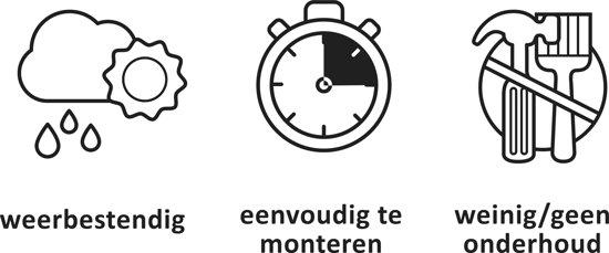 Keter Montero Tuinbank 3-zits