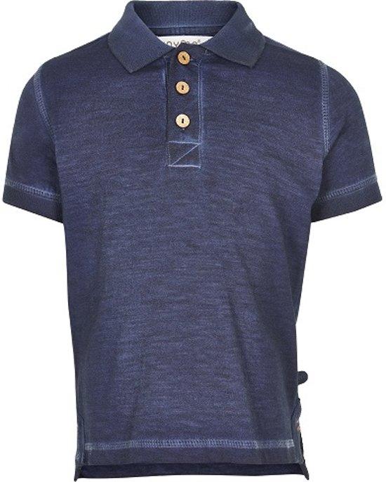 Minymo - jongens polo shirt - blauw