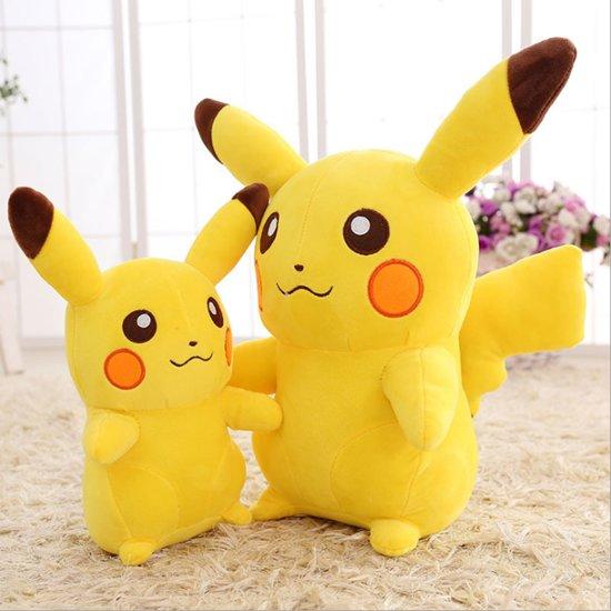 aa2cbf54313354 bol.com | Pokemon Pluche Knuffels - Pikachu 30cm, Pokémon | Speelgoed