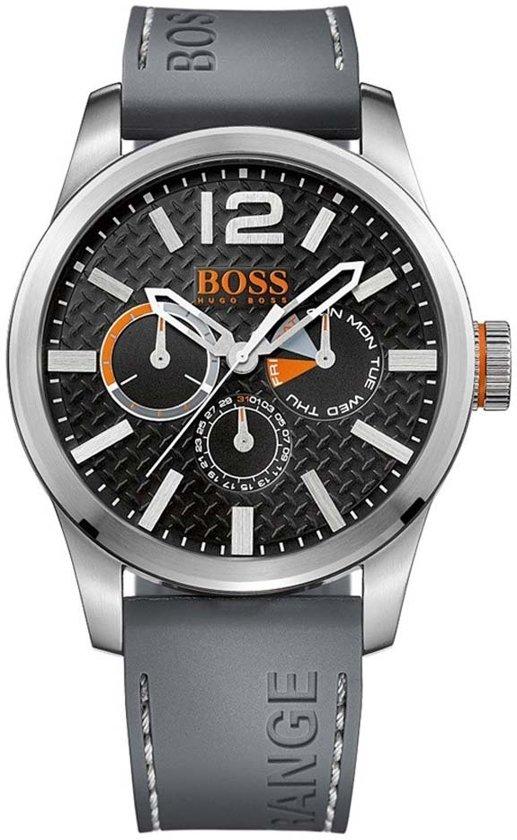 Hugo Boss Orange HO1513251 horloge heren - grijs - edelstaal