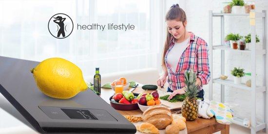GoClever Smart Keuken weegschaal, met smartphone applicatie