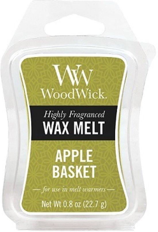 WoodWick Mini Wax Apple Basket (3 stuks)