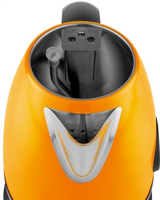 Klarstein Aquavita Chalet 1.7 L Retro Waterkoker Oranje