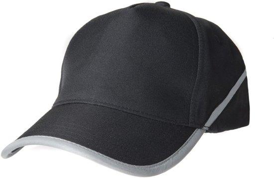 Tricorp Cap reflectie - Workwear - 653002 - Zwart