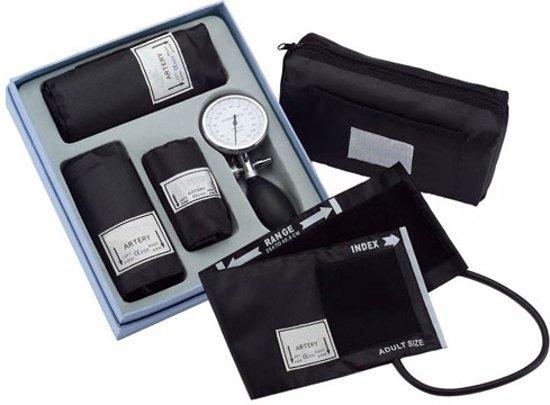 Handmatige bloeddrukmeter palm type 3 * manchet set inclusief cardiologie stethoscoop ST-A50S
