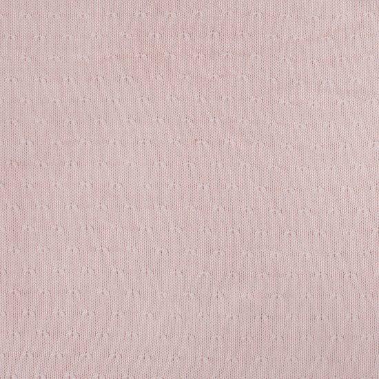 Jollein Soft Knit Wiegdeken Creamy Peach 75 x 100 cm