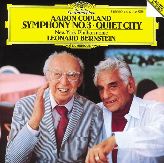 Copland: Symphony no 3, Quiet City / Bernstein, New York PO