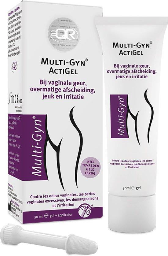 Multi-Gyn ActiGel - 50 ml - Bij vaginale geur, overmatige afscheiding, jeuk en irritatie