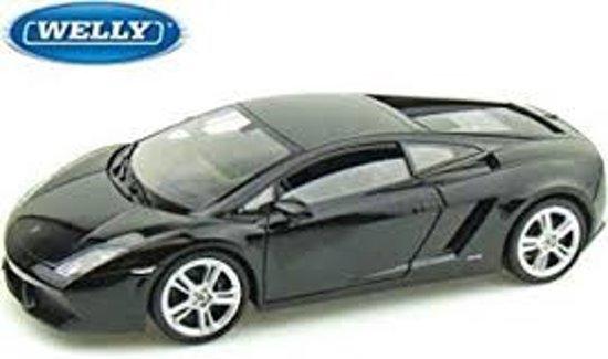 Bol Com Lamborghini Gallardo Lp560 4 Zwart 1 24 Welly Lamborghini