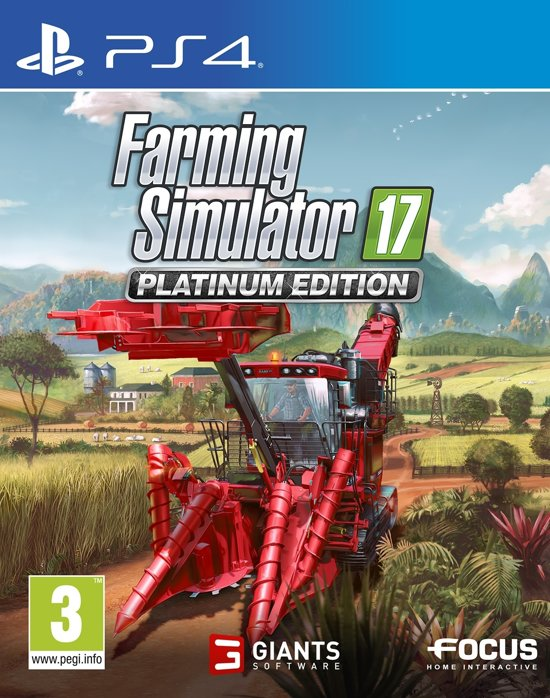 Farming Simulator 17 - Platinum Edition - PS4