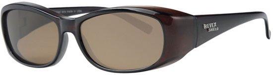1b7f19594ab05f Revex - Overzet zonnebril Shield brown (M)