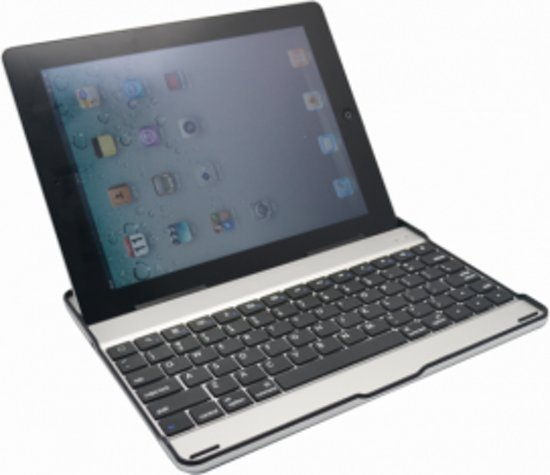 Apple iPad 2/3/4 Aluminium Bluetooth Keyboard Case