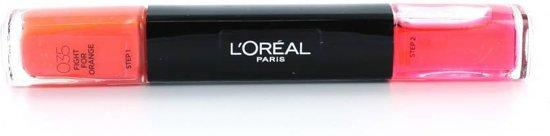 L'Oréal Paris Infallible Nail - 35 Fight For Orange - Oranje - Nagellak