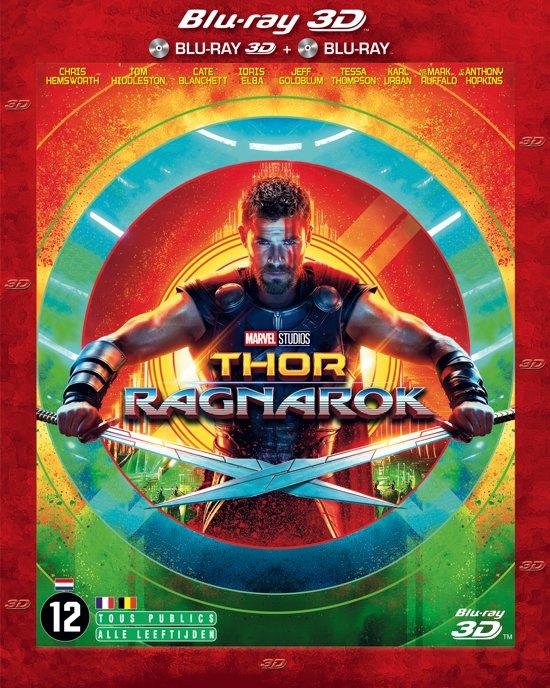 DVD cover van Thor: Ragnarok (3D Blu-ray)