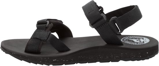 Jack Wolfskin Outfresh Sandal W Sandalen Dames - Black / Light Grey
