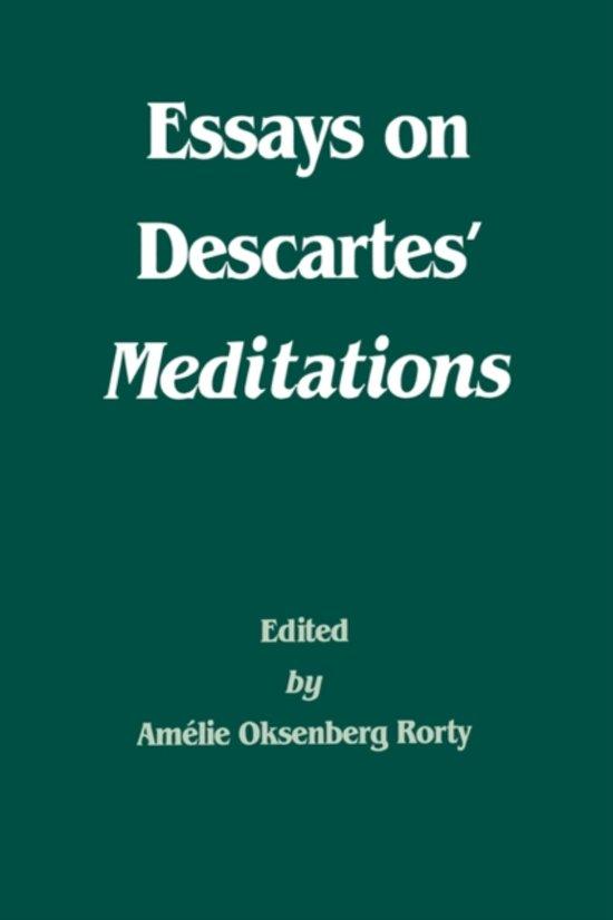 meditation three of descartes essay