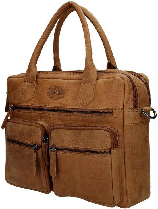 3'' Met Laptopvak Westernbag 13 Old West Bruin 8Pn6BB