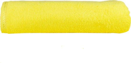 ARTG Towelzz® -  XXXL Handdoek - Helder Geel - 100 x 210 cm