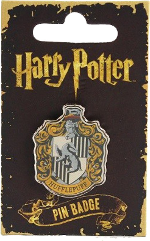 Bol Harry Potter Hufflepuff Crest Pin Badge Half Moon Bay