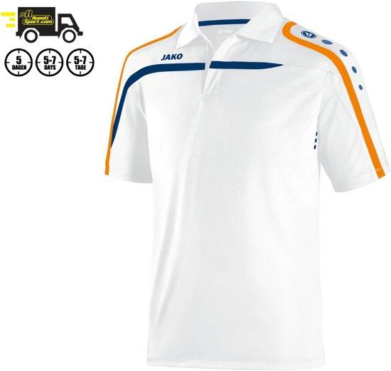 Jako Polo Performance - Sportpolo -  Dames - Maat 42 - 44 - Wit;Oranje;Blauw