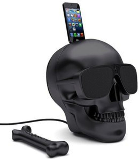 Jarre AeroSkull HD+ matt black bluetooth luidspreker
