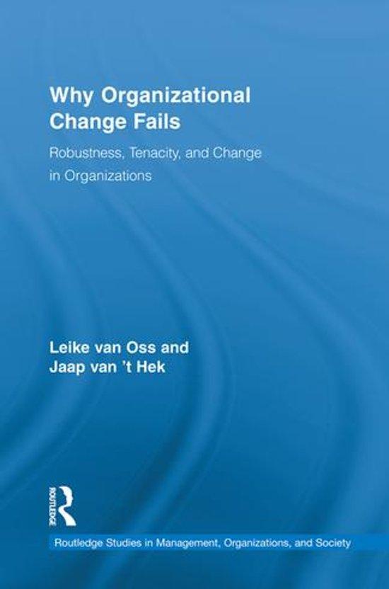 Boek cover Why Organizational Change Fails van Leike van Oss (Onbekend)