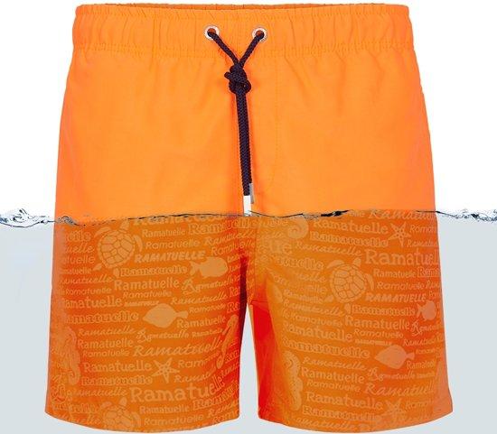 Ramatuelle Zwembroek Heren.Bol Com Ramatuelle Zwembroek Heren Magic Print Fluor Orange Maat S
