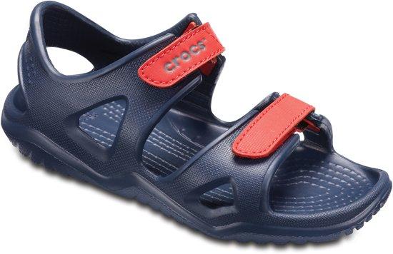 Crocs Swiftwater River Sandal  Sandalen - Maat 24/25 - Unisex - navy/rood