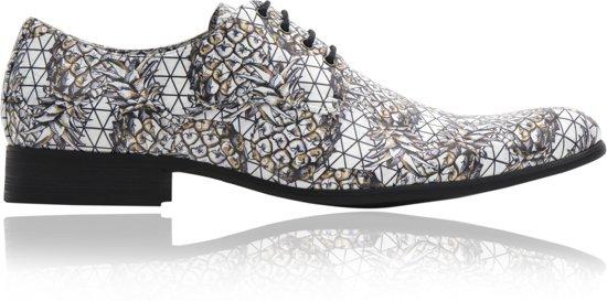 Schoenen Maat Kleurrijke Shiny Veterschoenen Pineapple Mannen 42 xtI44Xw