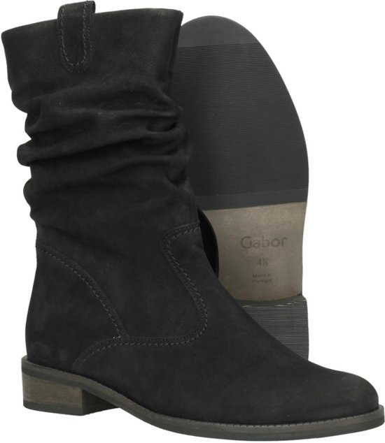 | Gabor Dames Klassieke laarzen Zwart Maat 40.5