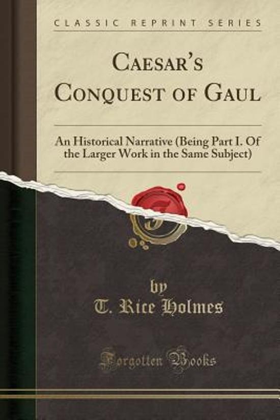 caesars conquest of gaul