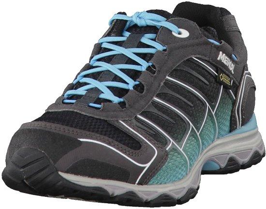 Chaussures Meindl X-30 Comme Lady Gtx Surround - Noir / Turquoise, Royaume-uni 5.5