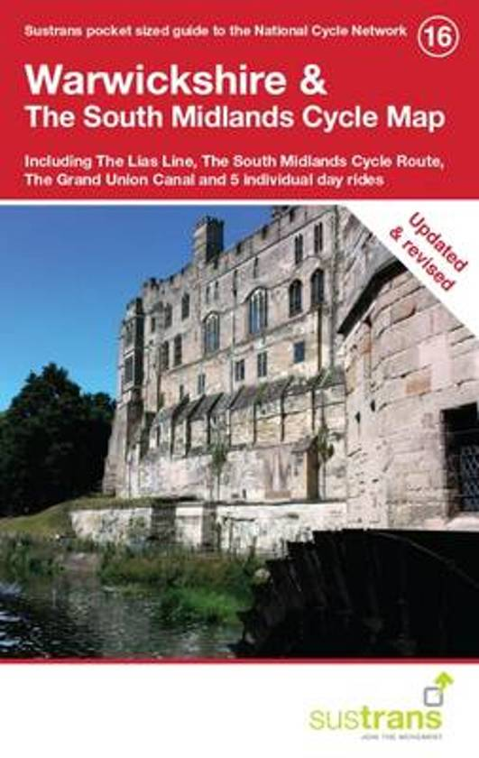 Warwickshire & The South Midlands Cycle Map