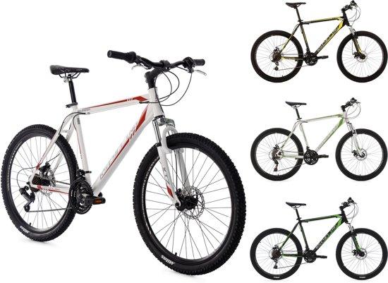 """Ks Cycling Fiets KS Cycling 26"""" Mountainbike Hardtail Sharp met 21 versnellingen zwart - 51 cm"""