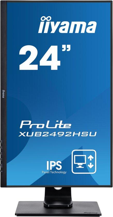 Iiyama ProLite XUB2492HSU-B1 - Full HD IPS Monitor