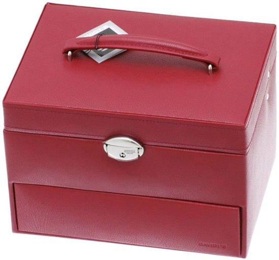 Davidt's - juwelenkistje - rood - automatic