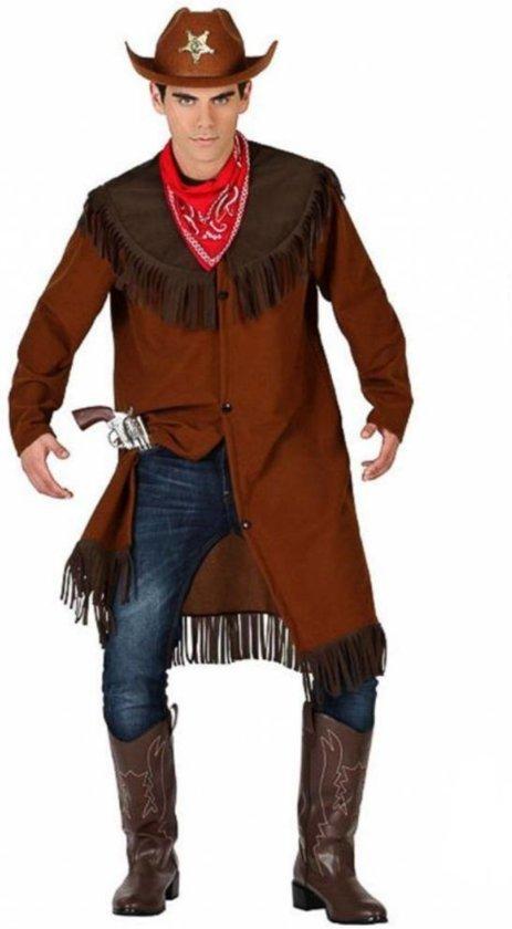 Partychimp - Kostuum - Cowboy Bill - M/L