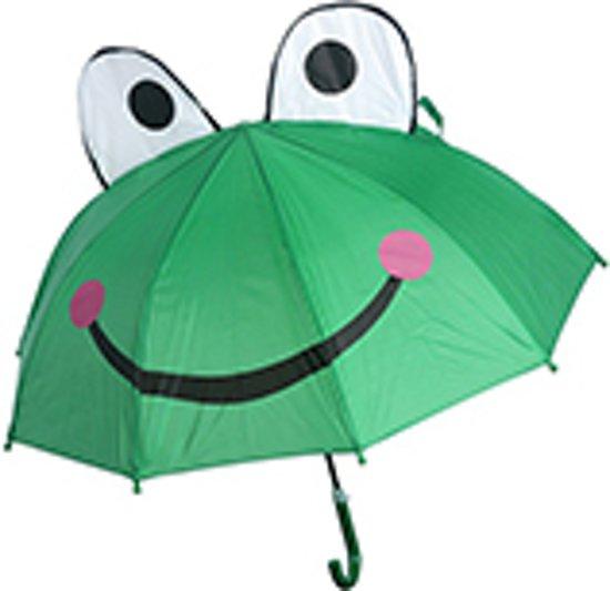 Bolcom Cadeau 3d Kinder Paraplu Kikker