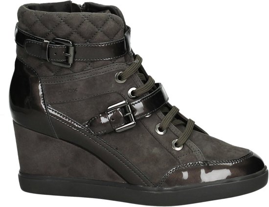 Taupe con Geox Sneaker Size 6467 39 Ladies D zeppa tacco C a qIIRP4rwZ