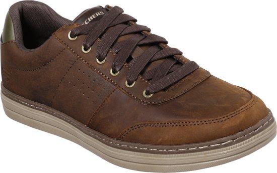 Skechers HerenDark HestonAvano Sneakers Brown Maat 40 W29IEDH