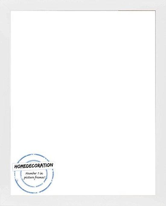 Homedecoration Misano – Fotolijst – Fotomaat – 32 x 54 cm  – Wit mat