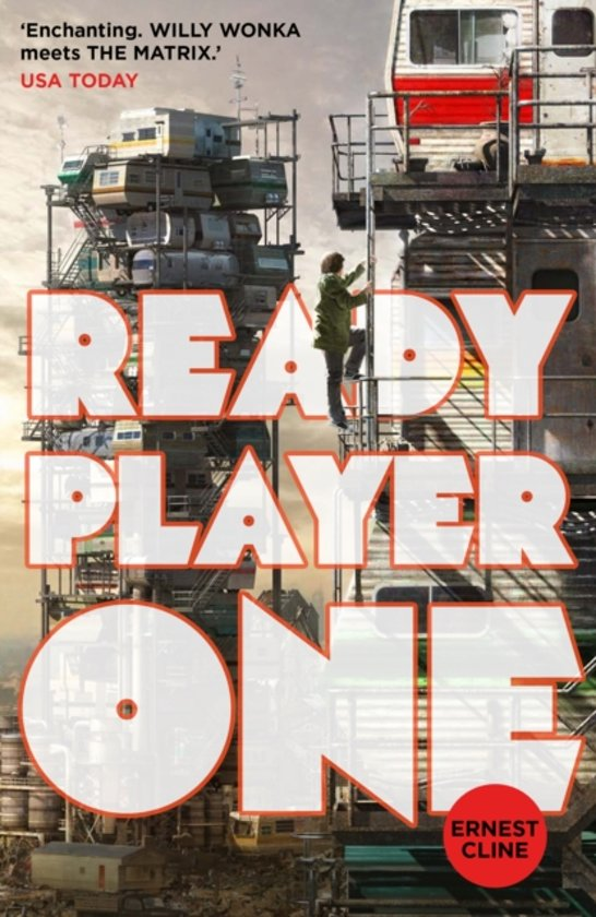 Boek cover Ready Player One van Ernest Cline (Paperback)