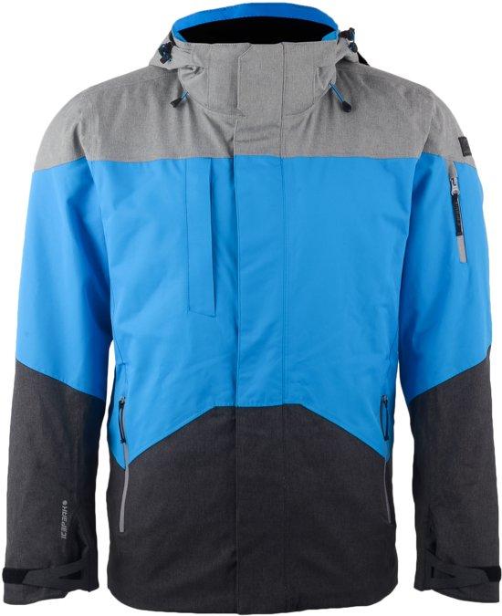 Icepeak Thomas Wintersportjas - Maat XL  - Mannen - blauw/grijs