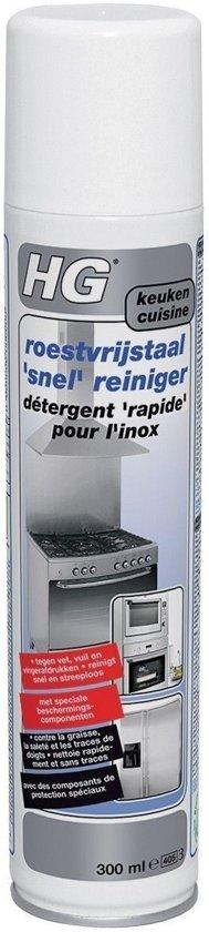 HG RVS Snelreiniger - 300 ml