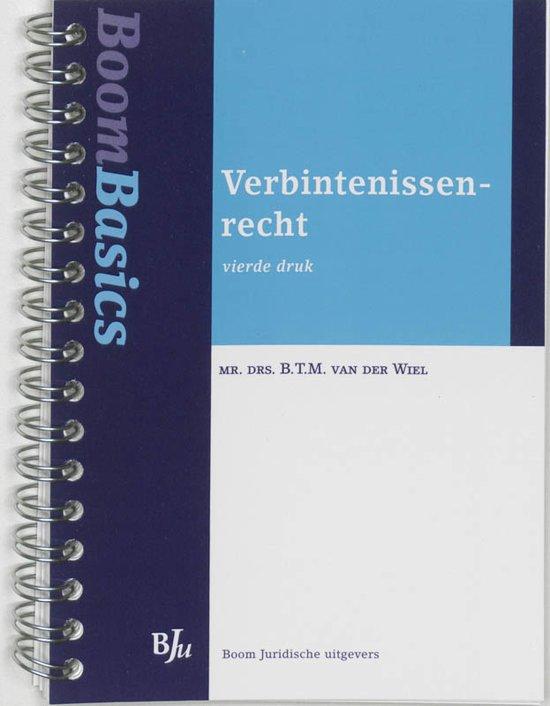 Boom Basics Verbintenissenrecht Boek Btm Van Der Wiel Pdf