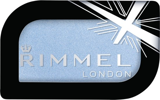 Rimmel London Magnif'eyes Mono Pressed - blauw - Oogschaduw