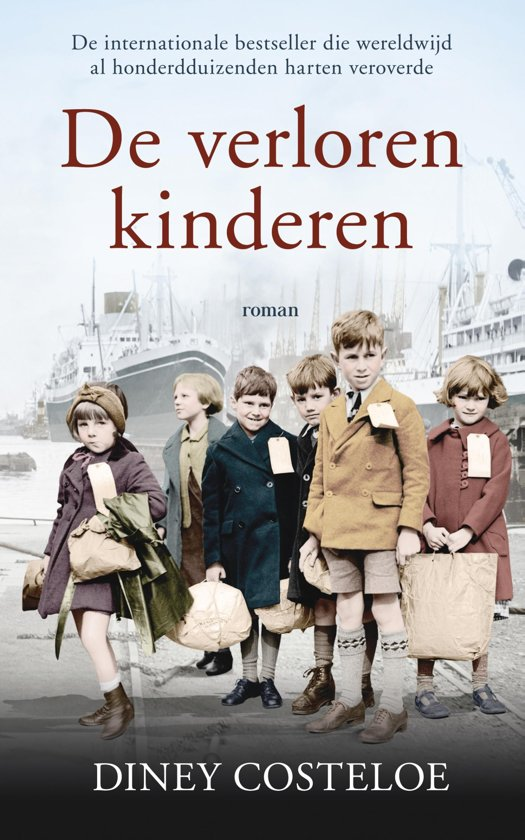 Boek cover De verloren kinderen van Diney Costeloe (Paperback)