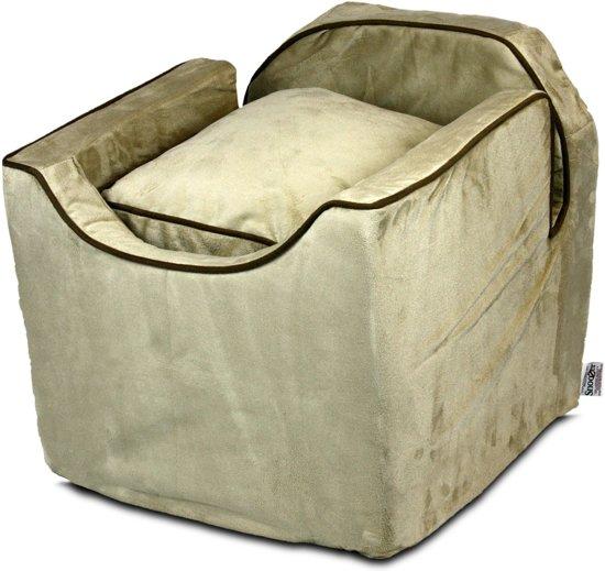 Snoozer Lookout - Autostoel - Autozitje voor honden - Medium 56cm - Buckskin