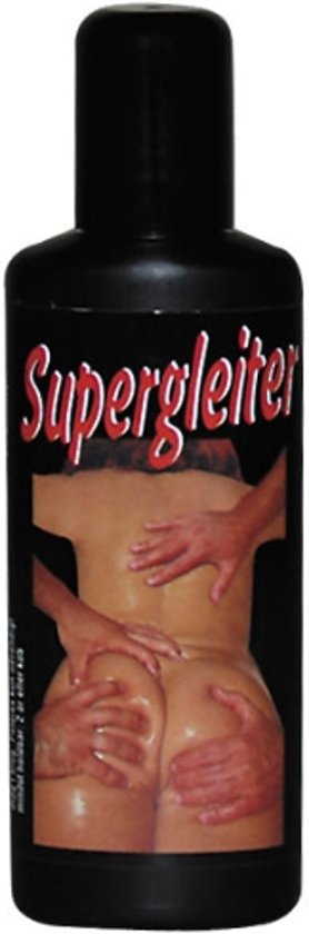 Supergladde massageolie
